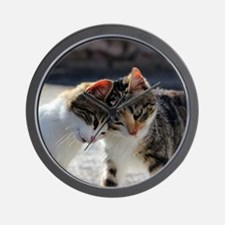 Cat_2015_0103 Wall Clock