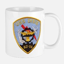 USS DIXIE Small Small Mug