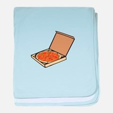 PIZZA BOX baby blanket
