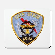 USS DIXIE Mousepad