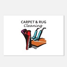 CARPET AND RUG CLEANING Postcards (Package of 8)