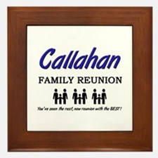 Callahan Family Reunion Framed Tile