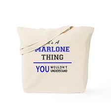 Unique Marlon Tote Bag