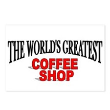 """The World's Greatest Coffee Shop"" Postcards (Pack"