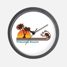 Virginia Beach Wall Clock