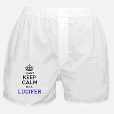 Funny Lucifer Boxer Shorts
