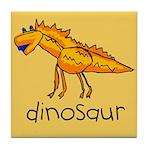 Kid Art Dinosaur Tile Coaster