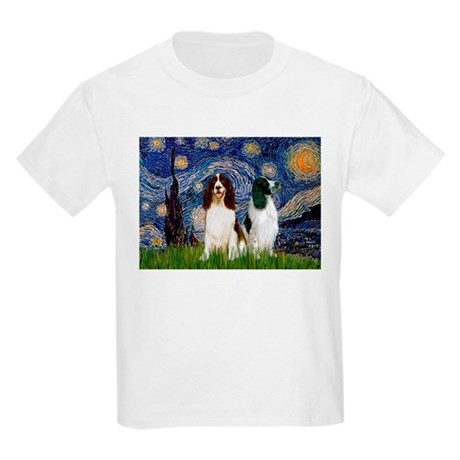 Starry Night & Springer Kids Light T-Shirt