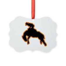 BRONC RIDER Ornament
