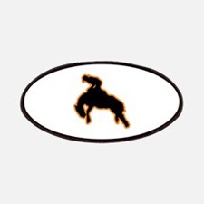 BRONC RIDER Patches