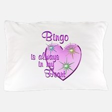 Bingo Heart Pillow Case