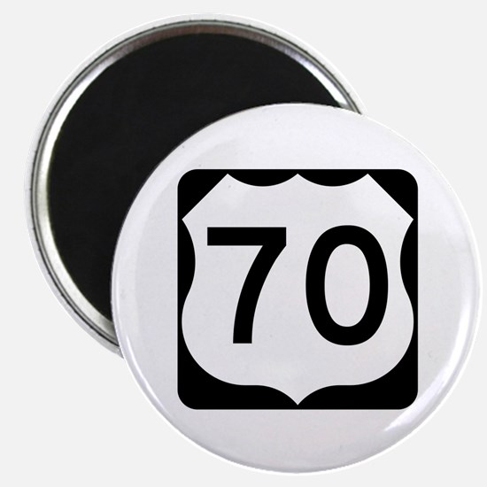 """US Route 70 2.25"""" Magnet (10 pack)"""