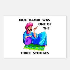MOE HAMID Postcards (Package of 8)