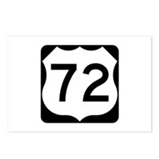 US Route 72 Postcards (Package of 8)