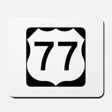US Route 77 Mousepad