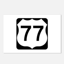 US Route 77 Postcards (Package of 8)