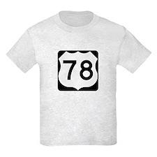 US Route 78 T-Shirt