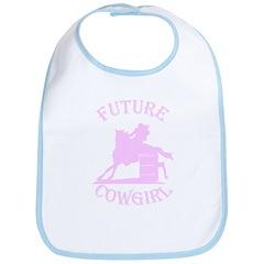 Future Cowgirl Bib