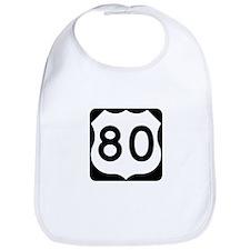 US Route 80 Bib