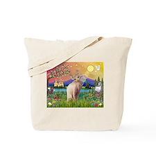 Sphynx Cat in Fantasyland  Tote Bag