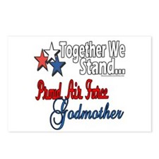Air Force Godmother Postcards (Package of 8)