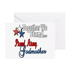 Army Godmother Greeting Cards (Pk of 10)