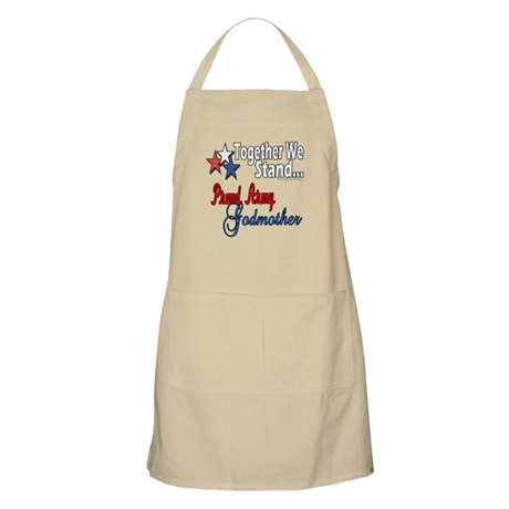 Army Godmother BBQ Apron