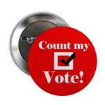 Count my vote (red) 2.25