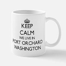 Keep calm we live in Port Orchard Washi Mug