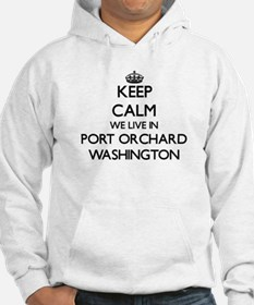 Keep calm we live in Port Orchar Hoodie