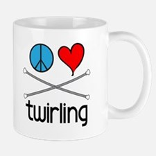 Peace Love Twirling Mug