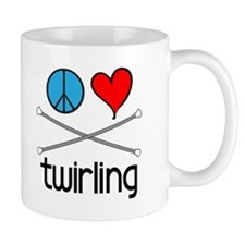 Peace Love Twirling Mug