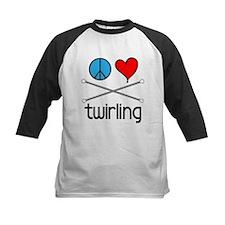 Peace Love Twirling Tee