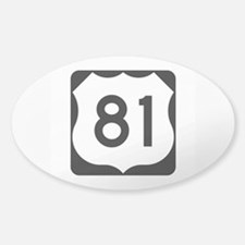 US Route 81 Decal