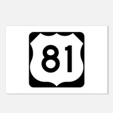 US Route 81 Postcards (Package of 8)