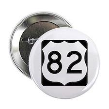 "US Route 82 2.25"" Button"