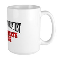 """The World's Greatest Real Estate Office"" Mug"