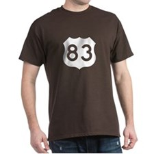 US Route 83 T-Shirt