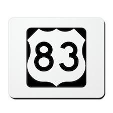 US Route 83 Mousepad