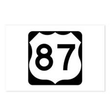 US Route 87 Postcards (Package of 8)