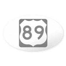 US Route 89 Decal