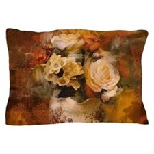 french country flowers Pillow Case