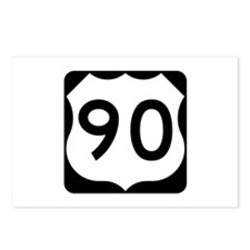 US Route 90 Postcards (Package of 8)