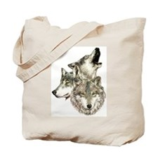 Cute Wolves Tote Bag