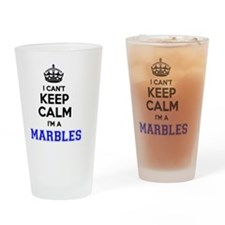 Cute Marbles Drinking Glass