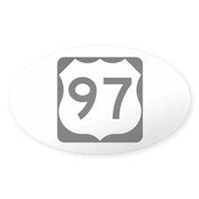 US Route 97 Decal