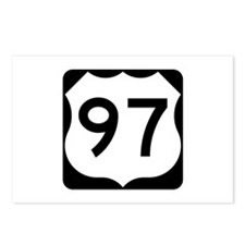 US Route 97 Postcards (Package of 8)