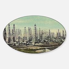 Oilfield, Beaumont Texas Decal