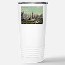 Oilfield, Beaumont Texa Travel Mug