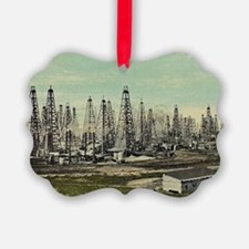 Oilfield, Beaumont Texas Ornament